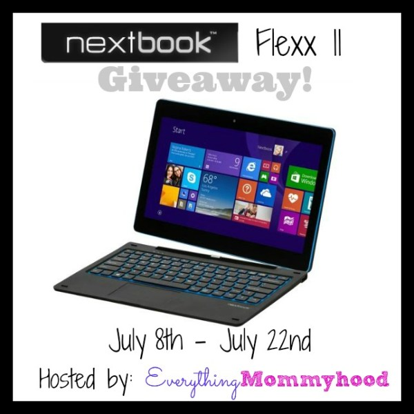 Welcome to the NextBook Flexx 11 Giveaway! Ends July 22nd #tech #gadget #giveaway