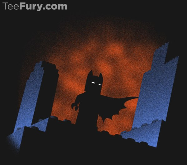 Fantastic Lego Batman T-Shirt Design – Sells out at Midnight Tonight!