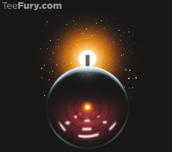 2001 and 2010 A Space Odyssey themed graphic T-Shirt – HAL would be proud