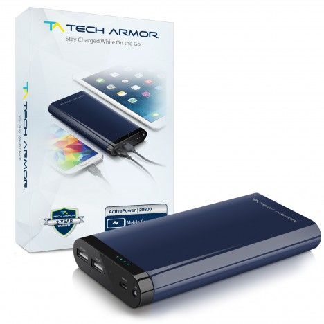 Tech Armor ActivePower Mobile Power Bank Review