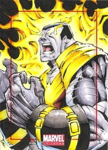 Sketch Card Art of the Day – Colossus drawn by George Calloway