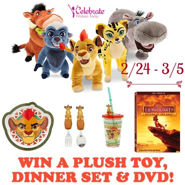 Disney Lion Guard DVD Prize Pack Giveaway Ends 3/4 Good Luck from Tom's Take On Things