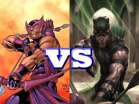 Twitter Poll:  Green Arrow vs. Hawkeye Who Wins?