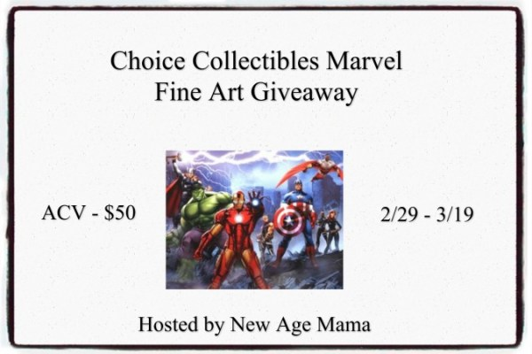 Win an Avengers Art Print Valued at $50 Ends 3/19 Good Luck from Tom's Take On Things