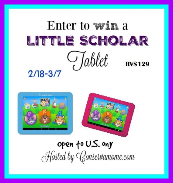 Win a Little Scholar Tablet for Kids to Enjoy - Ends 3/7 Good Luck from Tom's Take On Things