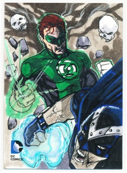 Sketch Card Art of the Day Green Lantern