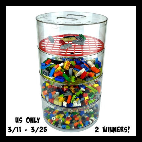 Blokpod Lego Sorter and Storage Giveaway