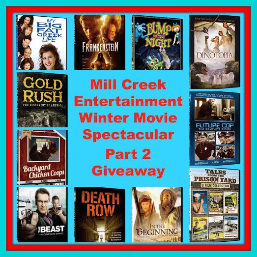 Winter Movie Spectacular Part 2 Giveaway Ends 4/1 Good Luck from Tom's Take On Things