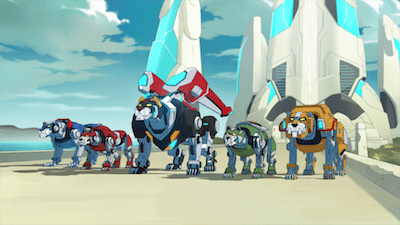 Check out the new Voltron Legendary Defender Trailer
