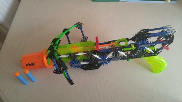 K'NEX Super Strike Rotoshot Blaster ~ Makes building fun