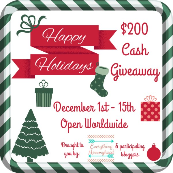 Win $200 in Holiday Cash via PayPal in this Giveaway - What would you buy?