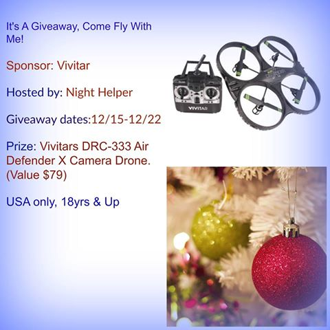 Vivitars DRC-333 Air Defender X Camera Drone Giveaway
