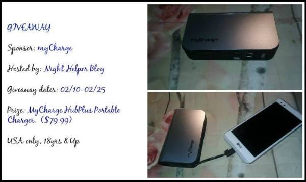 mycharge HubPlus Portable Charger Giveaway