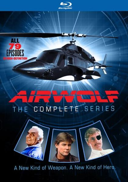 AIRWOLF – THE COMPLETE SERIES BLU-RAY SET GIVEAWAY