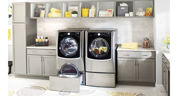 Using LG Front Loading Laundry Appliances makes chores easier