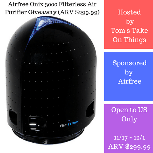 Clear the Air Purifier Giveaway ~ Win an Onix 3000 Air Purifier Ends 12/1