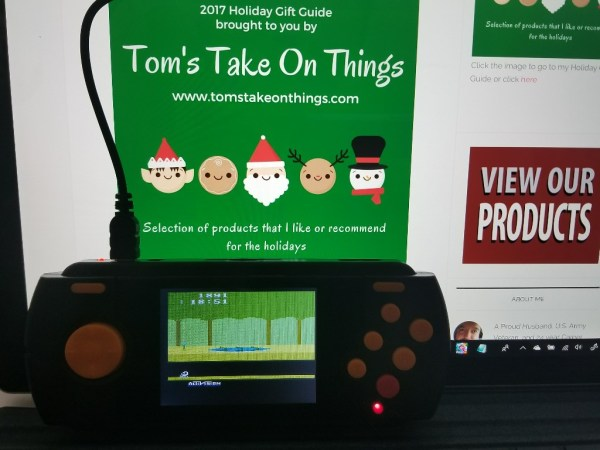 2017 Holiday Gift Guide - Atari Flashback Portable