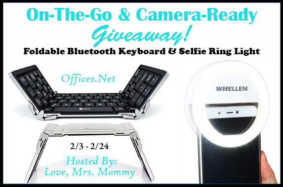 On The Go and Camera Ready Giveaway Ends 2/28