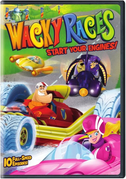Wacky Races: Start Your Engines Season 1 Volume 1 Giveaway Ends 5/15