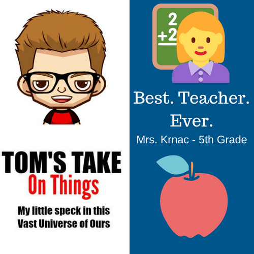 Best. Teacher. Ever. Giveaway - Win $25 in Gift Cards to Staples and Amazon Who was your favorite teacher ever?