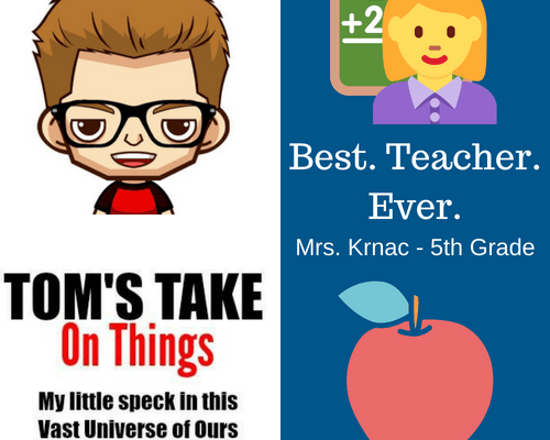 Best. Teacher. Ever. Giveaway – Win $25 in Gift Cards to Staples and Amazon