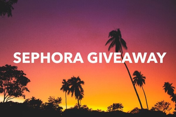 $100 Sephora Gift Card Giveaway Ends 9/14 Good Luck