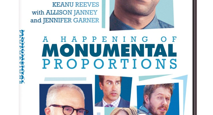 A Happening of Monumental Proportions is out now to enjoy at home