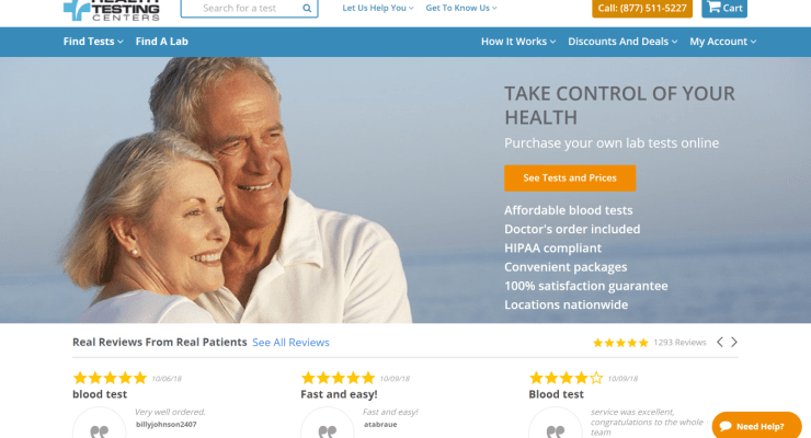 Health Testing Centers provides easy ways to get lab tests done – Save 10% off with my promo code
