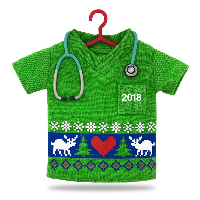 2018 Happy Holiday Scrubs Christmas Ornament Giveaway Ends 12/31