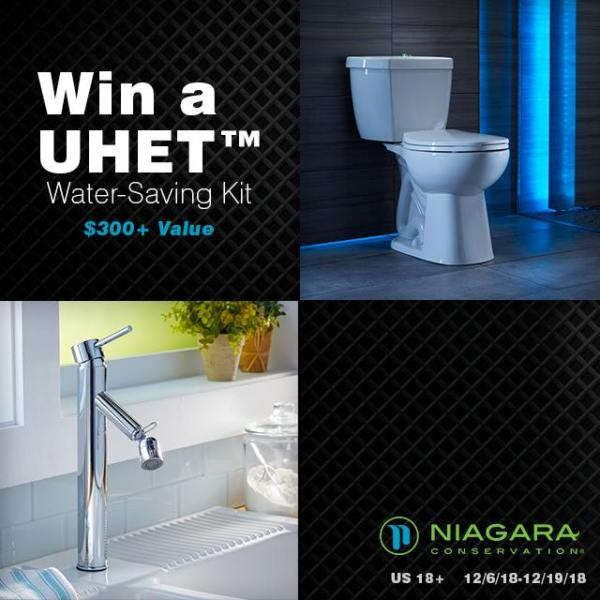 Phantom Toilet and UHET Water Saving Kit Giveaway ~ Want to win a water saving toilet? Then enter by 12/16 for your chance! Good Luck! ~Tom
