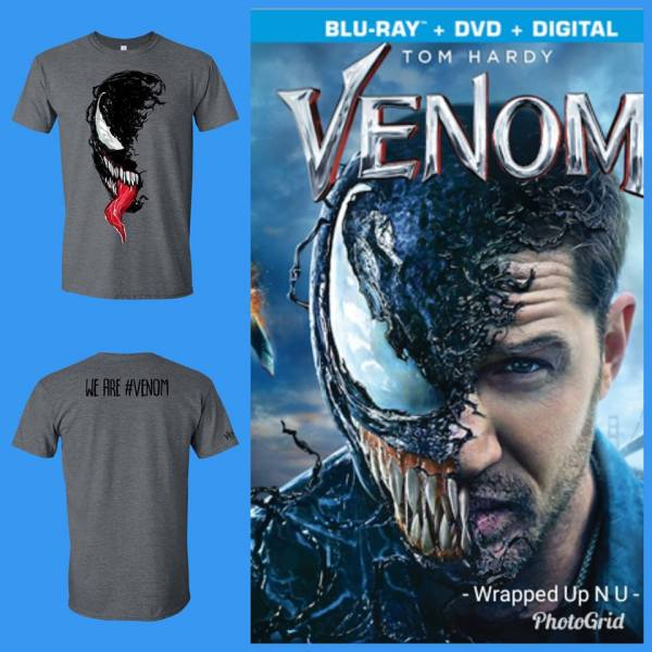 Marvel's VENOM Prize Package Giveaway Ends December 28th Good Luck
