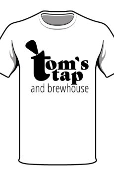Tom's tap t-shirt mockup