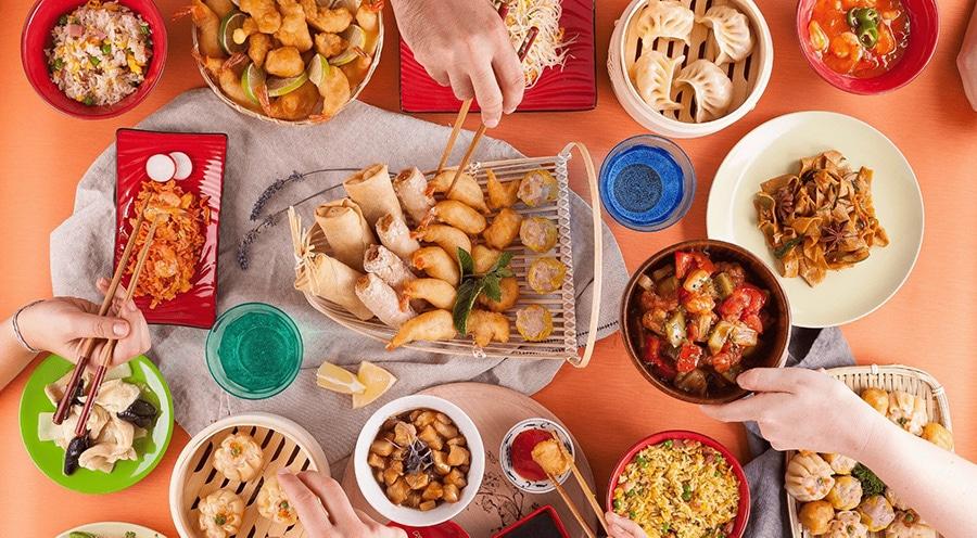 Come acquistare cibo orientale online