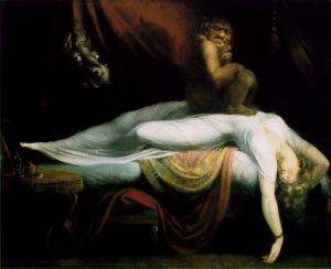 The Nightmare, John Henri Fuseli, 1781