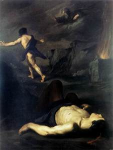 Cain and Abel - Pietro Novelli