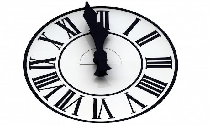 時間ギリギリ