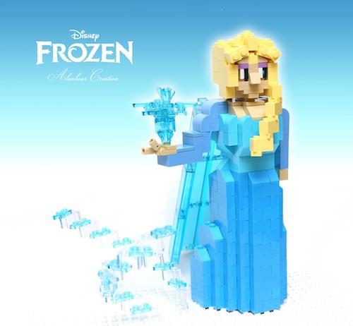 LEGOでLet it Go