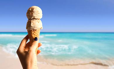 夏とアイスクリーム