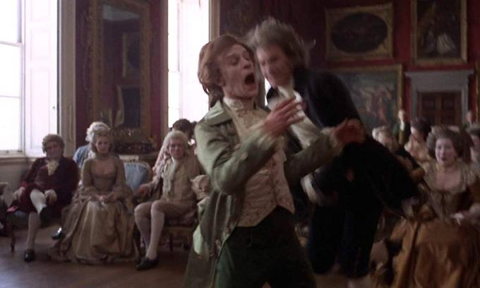 レドモンド・バリーとブリンドン子爵の乱闘シーン