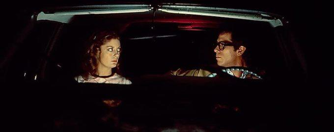 道に迷ったブラッドとジャネット