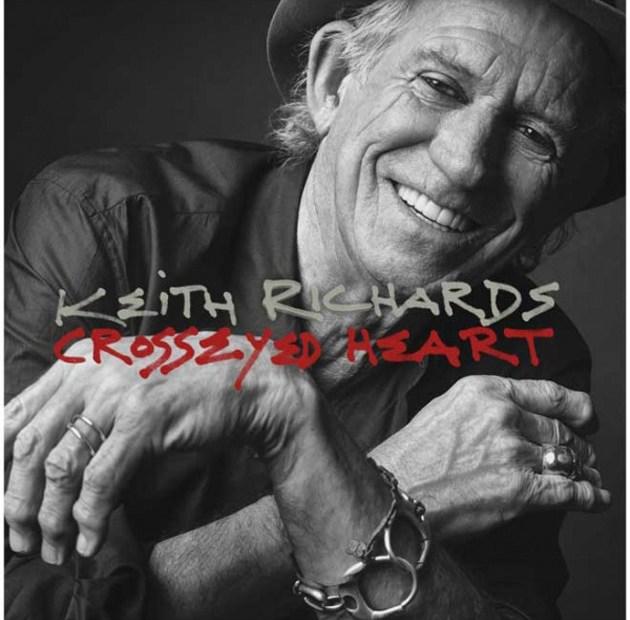 Keith Richards Cross Eyed Heart