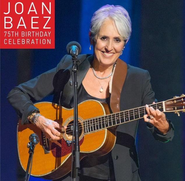 Joan Baez 75 CD cover