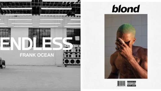 Frank Ocean Endless e Blond