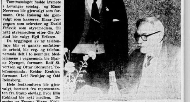 1960 Årsmøtet