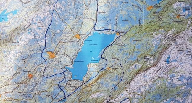 Seterstien fra Lavøya til Reistadbustaden