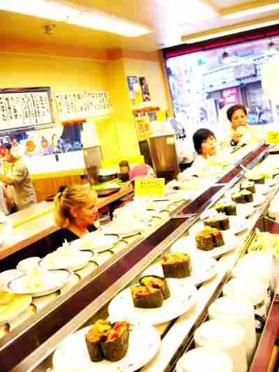 日本食-海外の人-寿司