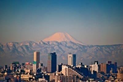 外国の人-日本旅行-富士山
