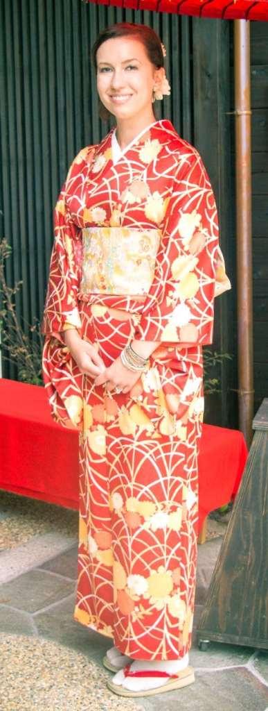 着物-体験-京都-外国-人-アメリカ人-夫婦