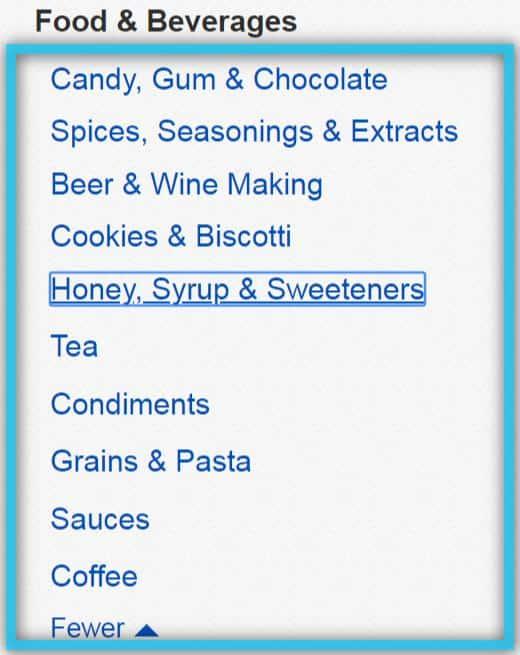 アメリカ-通販-食品