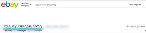 ebay 追跡